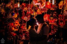 Ho Chi Minh-stad, Vietnam Pre-wedding portretten - Happy Mid Autumn Festival