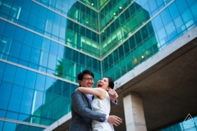 SiPH hospital, Bangkok, Thailand engagement session | a wedding ring and his bride-to-be