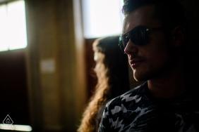 Ruse, Bulgaria Pre-Wedding Engagement Photography - L'amore attraverso gli occhiali