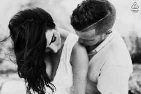 Intimate Engagement Photo from the Boca Raton Beach, FL