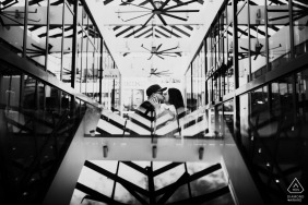 Engagement Photography Session in Miami Design District, FL