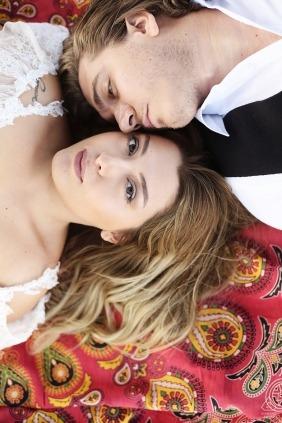 Bursa, Turkey engaged couple portrait