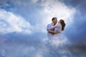 Engagement Shooting in the clouds over Aachen