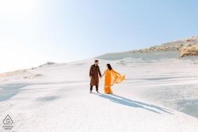 Séance d'engagement de la Cappadoce avec l'amour éternel