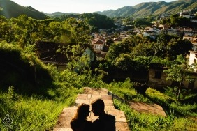 Ouro Preto, MG Pre Wedding Portrait Photos
