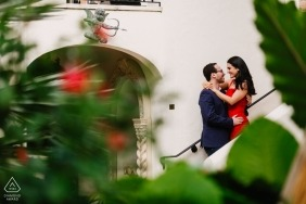 Engagement session at Worth Avenue, Palm Beach, Florida