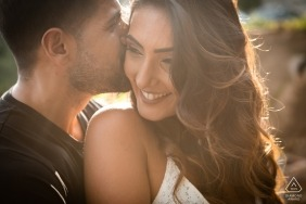 ITALY ENGAGEMENT PHOTO SESSION IN THE AFTERNOON LIGHT IN TAORMINA