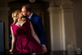 布加勒斯特订婚摄影在上诉法院的历史建筑