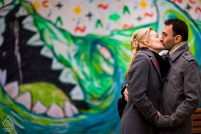 Engagement Photos from Arthur Verona Street - couple session on the streets of Bucharest