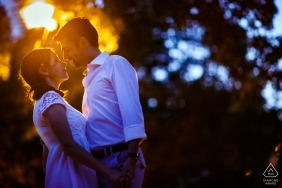 Engagement Photographer for Romania - couple session on the street of Arthur Verona in Bucharest