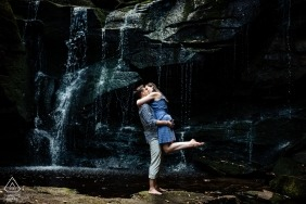 Blackwater Falls Engagement Shoot - West Virginia