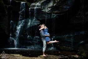 Verlobungs-Trieb Blackwater Falls - West Virginia