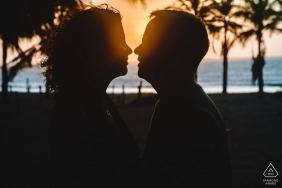 Piaui Brazil Pre Wedding Photo Shoot at the Beach at Sunset