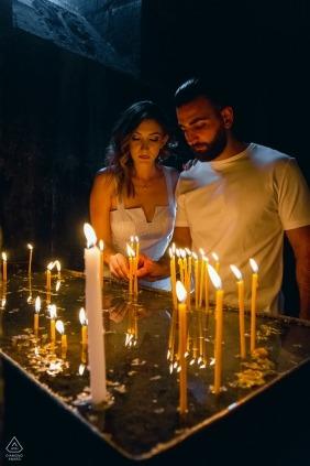 Armenia, Geghard monastery — Engagement photo session in Armenia