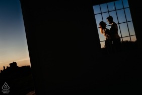 Pré photographe de mariage à Arad, Roumanie: Photo prise pendant la séance de fiançailles