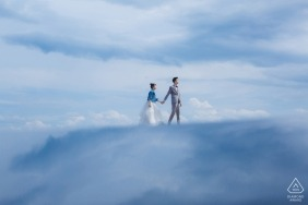 Hebei prewedding photoshoot before the big day - Love in the sky
