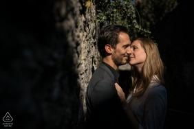 Annecy, Frankreich Verlobte erschossen, kurz vor dem Kuss
