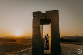 托斯卡纳克里特塞内西,Site Transitoire-与情侣在爱之窗进行订婚