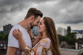 North Rhine-Westphalia wedding and engagement photographer - Dortmund rooftop-love