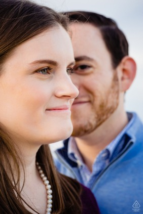 Sunken Meadow State Park Engagement Picture - Couple Portraits before the Wedding Day