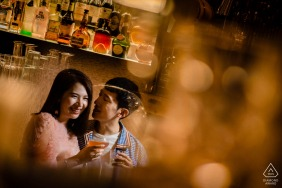 Rosewood Phuket Engagement Portraits - Indoor Prewedding Photoshoot