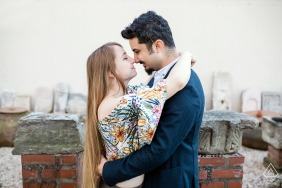 Bursa, Turkey engagement photo session with a cute couple