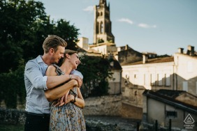 Saint Emilion, Nouvelle-Aquitaine, France Pre-wedding love session