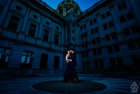 """Harrisburg Engagement Portrait 