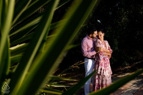 turkey pre wedding image - fethiye engagement shooting in nature