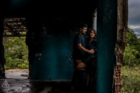 Praia de Itaúnas - ES - Brazil Pre Wedding Picture in the Ruins