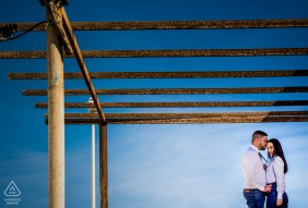 Couple image from Cabo de Gata Almeria - Beautiful day for pre wedding pictures