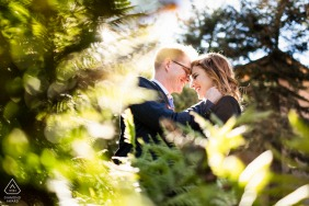 San Francisco pre-wedding image - The highlight in the woods