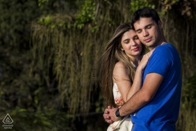 Couple Engagement Photos | Ilha de Paquetá, Rio de Janeiro, Brazil - With my eyes closed I feel your pure love