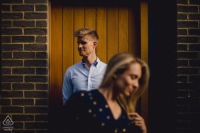 Engaged Couple Session | London Creative pre-wedding shoot