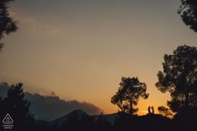 Engaged Couples Photographer   Cyprus engagement shoot at sunset