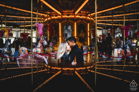 Engagement Photo Sessions | Carousel in Florence