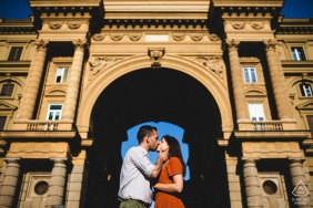 Engagement Photos | Florence Love and geometry