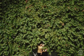 Engagement Photo from Ho Chi Minh city, Vietnam - In the Green