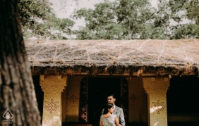 Engaged Couple Session | Silparamam, Hyderabad, India - The couple are from USA. It's the love between the couple,