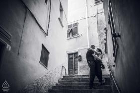 Verlobte Paare Fotografie | Portovenere Love Verlobungsgegenstand