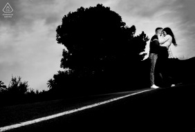 Eduardo Blanco, of Murcia, is a wedding photographer for