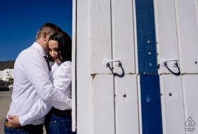 Photos de fiançailles de couple | Cabo de Gata - Almeria - Session sur la côte d'Almería