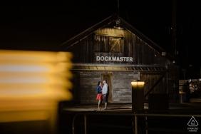 Engaged Couples Photographer | Key West Harbor Dockmaster Quarters Engagement Shoot
