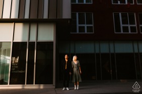 Engaged Couples Photography | China Town, Los Angeles - Finding light and context