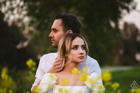Séance de photographie d'engagement de seferihisar izmir