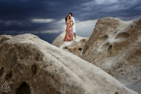 Engagement Photo from cappadocia pre wedding shoot session