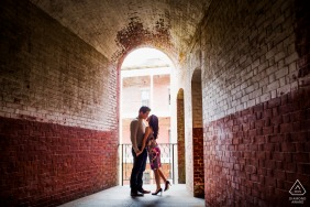 Engagement Picture Session from San Francisco - Romance at the fort