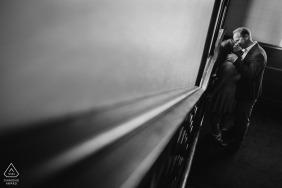 Engaged Couples Photographer   Black and White Session at Hotel Coronado