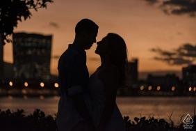 Píer Mauá, Rio de Janeiro, Brazil engagement portrait - You warm my soul. Marry me?
