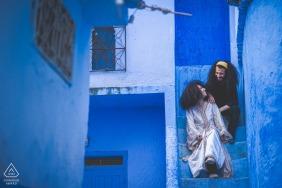 chefchaouen - maroccoengagement love season